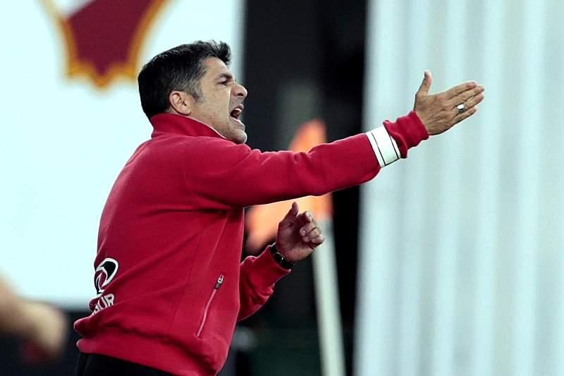 Jorge Paixão, treinador do Olhanense