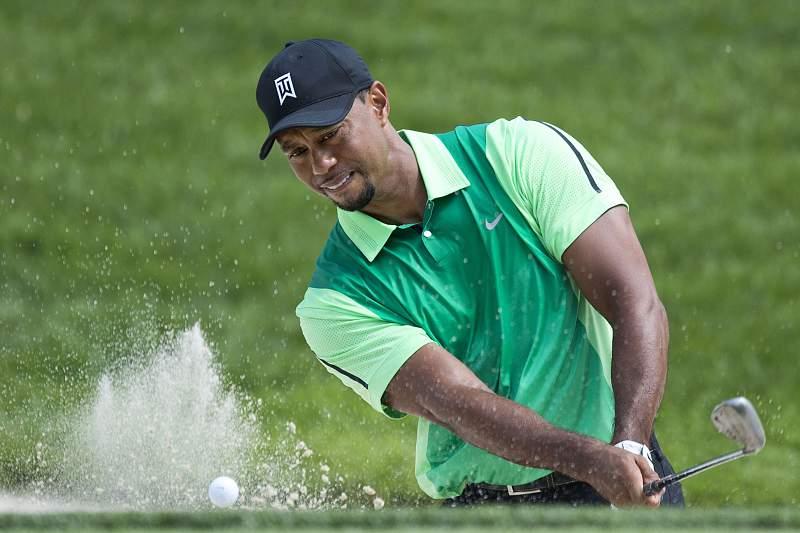 Tiger Woods arrisca-se a falhar o