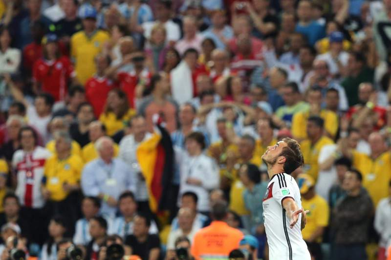 Goetze marca na final do Mundial