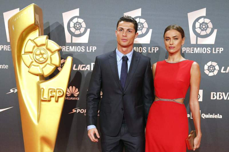 Ronaldo e Irina Shayk