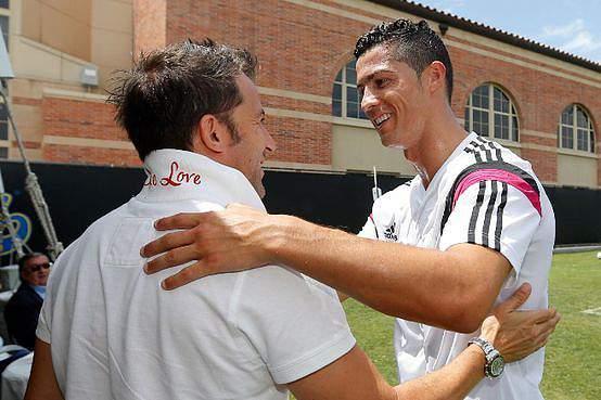 Del Piero visitou Cristiano Ronaldo em Los Angeles