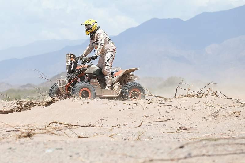 Kees Koolen em ação no Dakar2015
