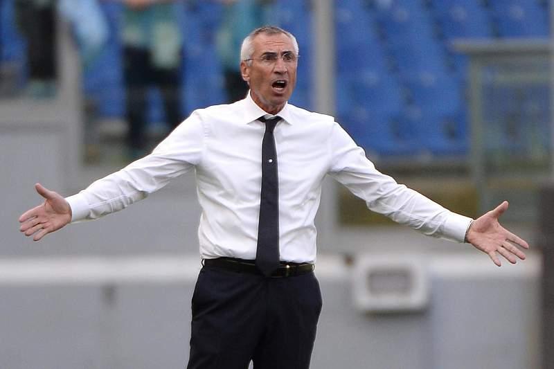 Edoardo Reja, antigo técnico do Nápoles e da Lazio
