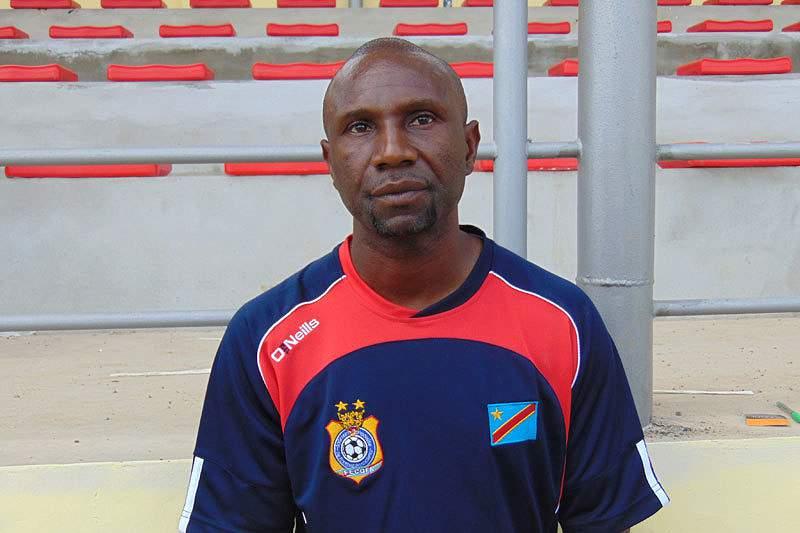 Florent Ibengé, selecionador da RD Congo