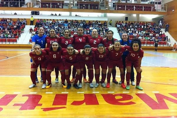 Seleção portuguesa de futsal feminino