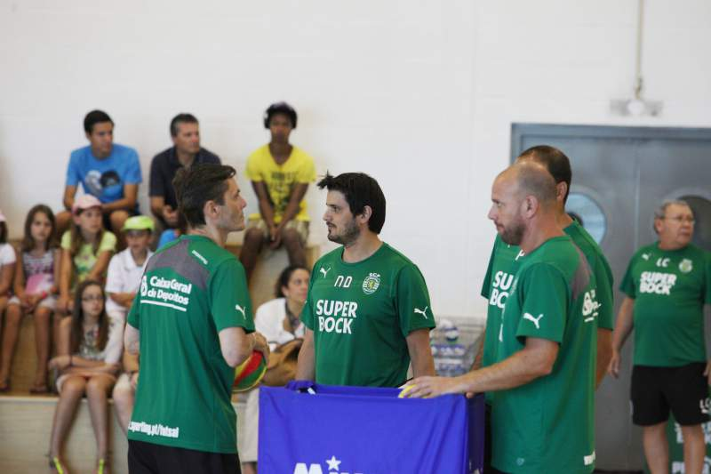 Equipa técnica do futsal leonino