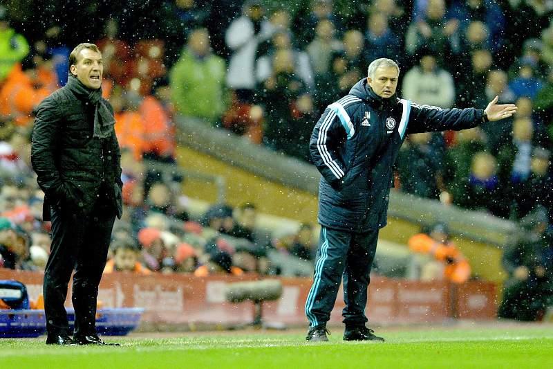 Rodgers e Mourinho