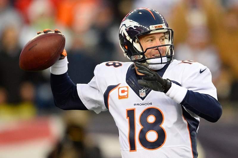 Manning vai cumprir, aos 38 anos, mais uma época na Liga de Futebol Americano