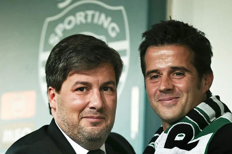 Bruno de Carvalho e Marco Silva