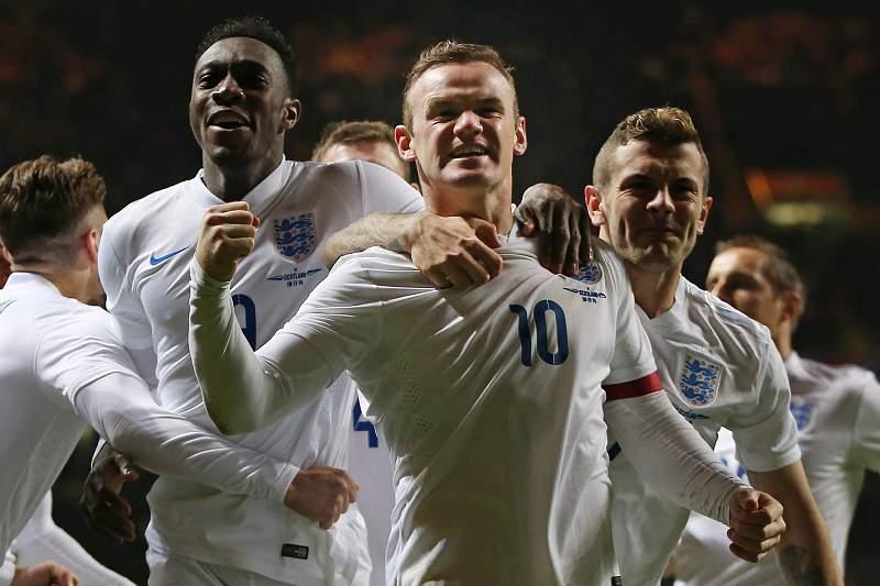 A Inglaterra apurou-se para para o Euro2016