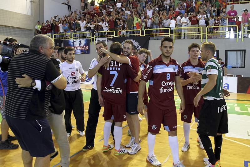 Fundão venceu a Taça de Portugal em futsal
