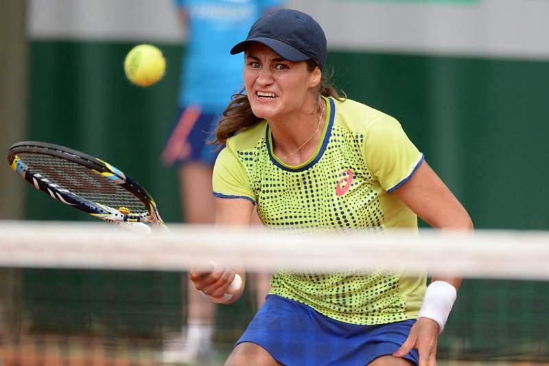 Monica Niculescu no Roland Garros de 2014