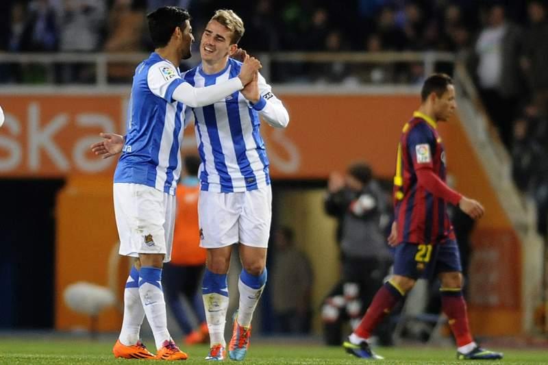 Griezmann deixa a Real Sociedad