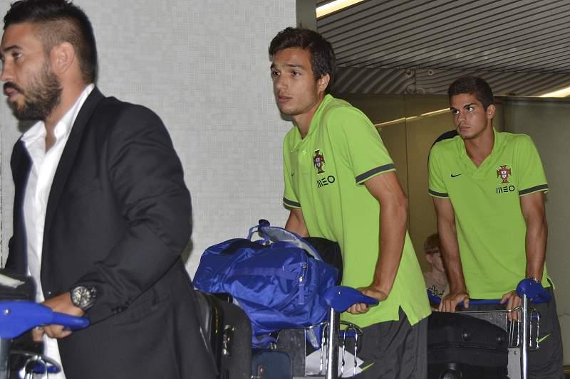 Seleção sub-19 regressa a Lisboa
