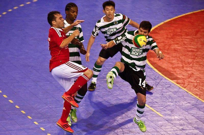 Futsal: Sporting-Benfica