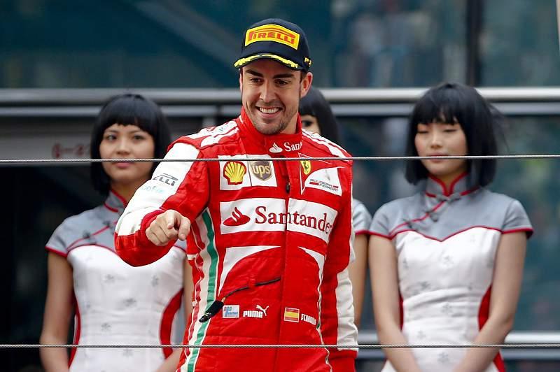 Fernando Alonso,piloto da Ferrari