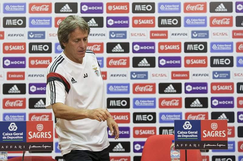 Jorge Jesus fez antevisão do jogo com o SC Braga.