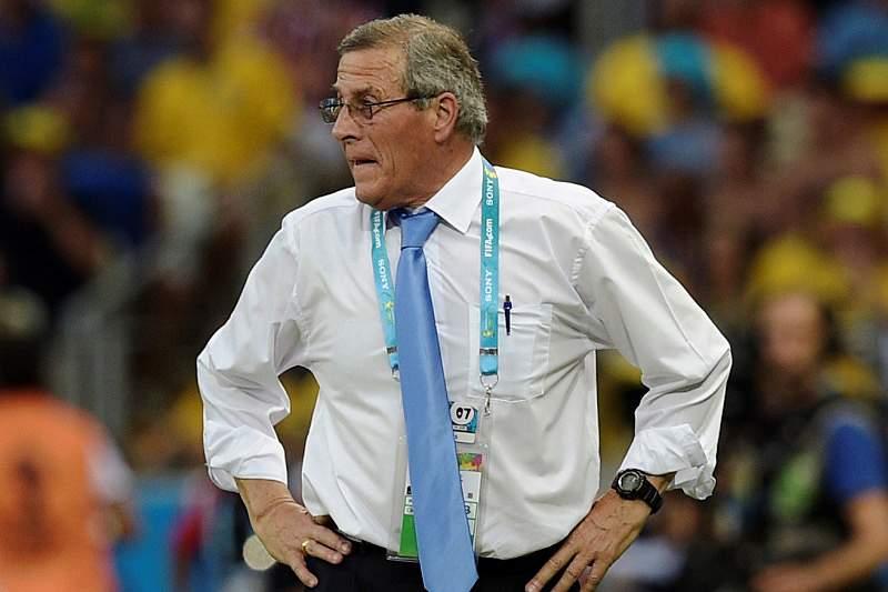 Oscar Tabarez assistiu a desastre do Uruguai