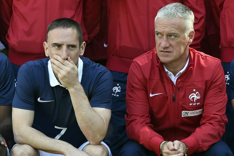 Ribéry é um dos grandes ausentes do Mundial 2014