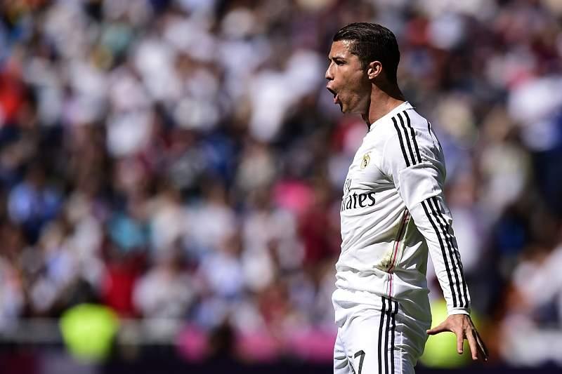 Cristiano Ronaldo celebra golo