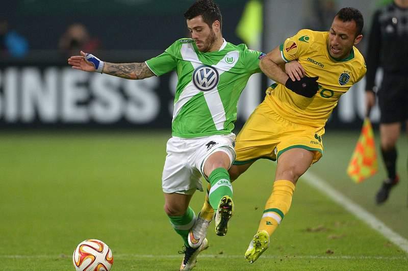Wolfsburgo-Sporting: Vierinha e Jefferson