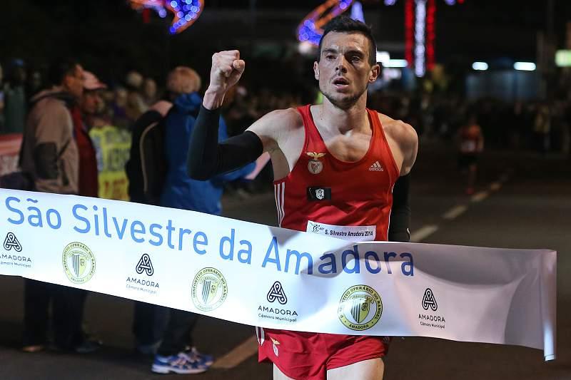 Rui Pinto vence a 40ª São Silvestre da Amadora