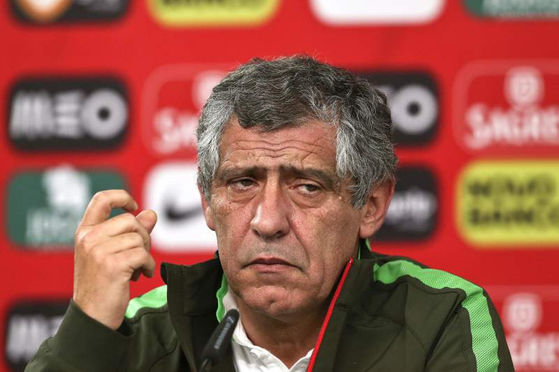 Press conference of Portugal national team