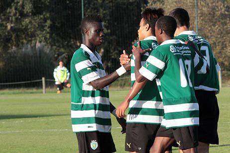 Braima Candé fez formação no Sporting