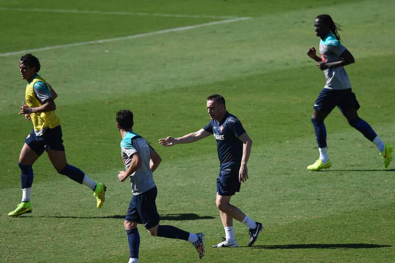Portugal ultima preparativos para a estreia frente à Alemanha