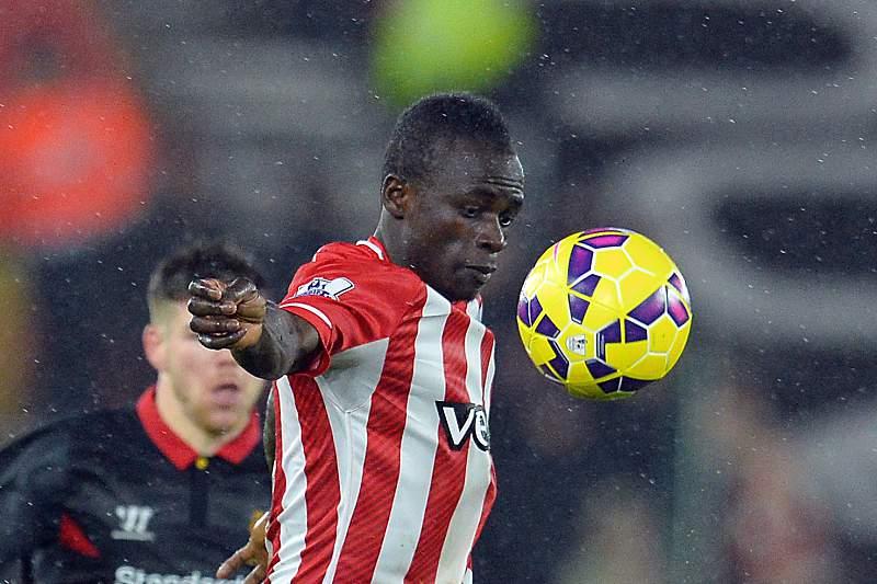 Sadio Mané joga no Southampton