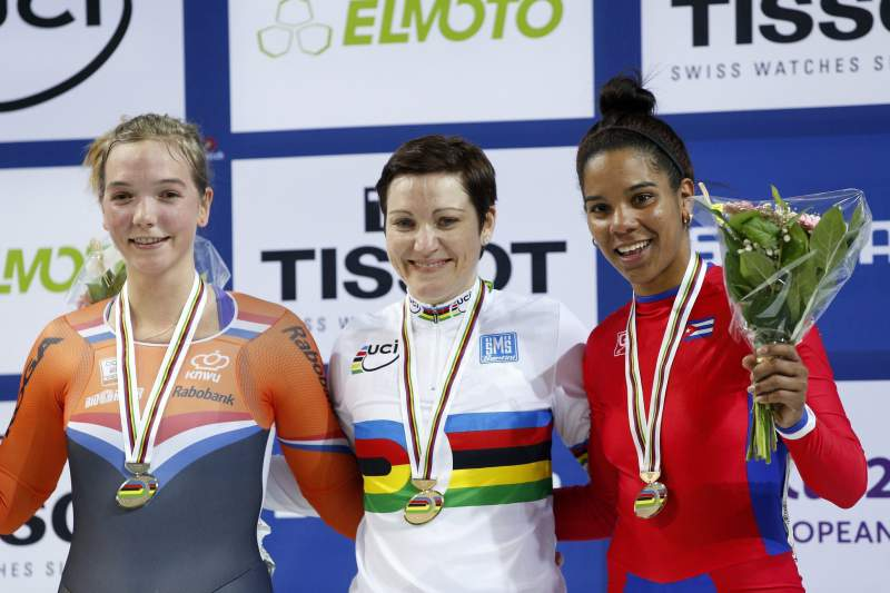 2015 UCI Track Cycling World Championships in Saint Quentin en Yvelines