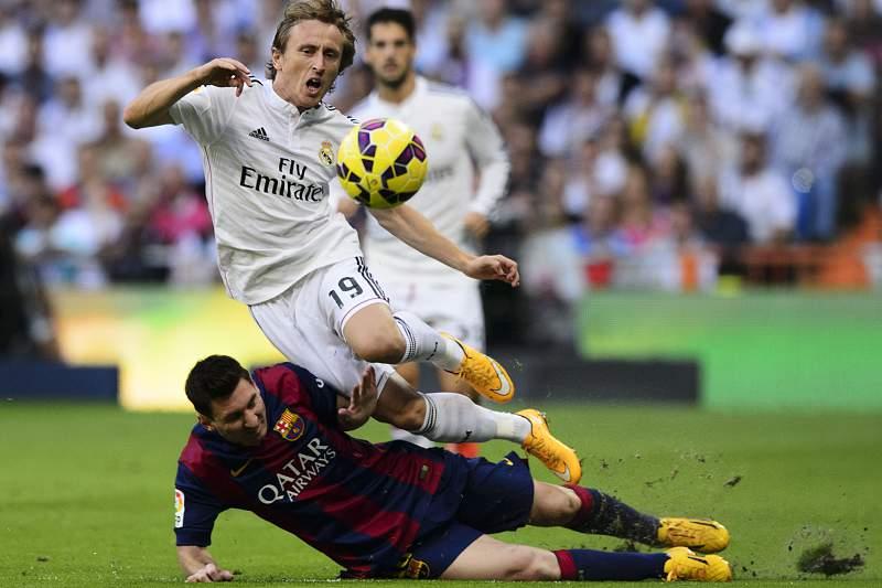 Modric e Messi
