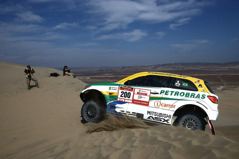 Guilherme Spinelli numa edição do Dakar Rally Series