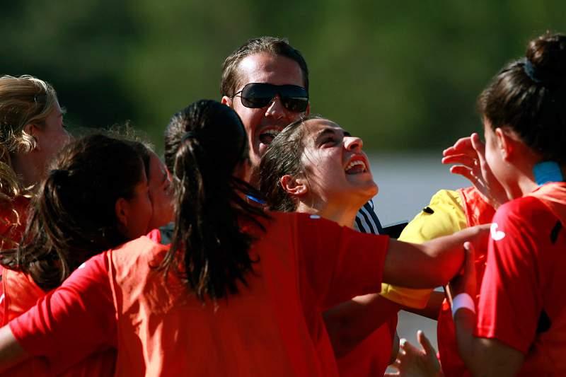 Mariana Coelho celebra o golo