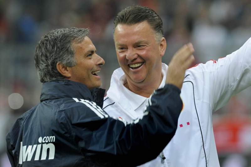 Mourinho e Van Gaal
