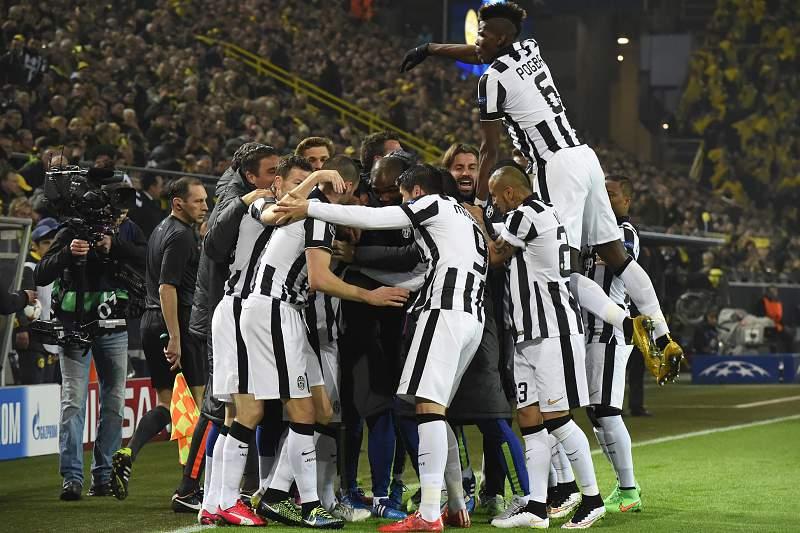 Juventus festeja golo