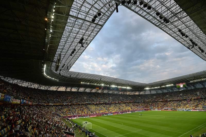 Estádio de Lviv na Ucrânia