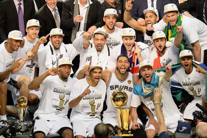 San Antonio Spurs vencem NBA 2014