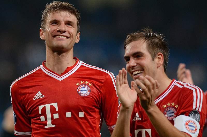 Lahm e Muller mais dois anos no Bayern Munique