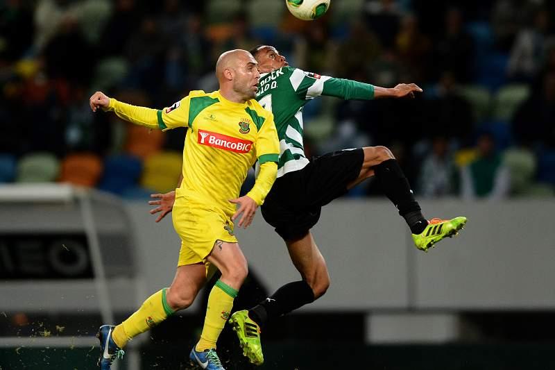André Carrillo em ação ao serviço do Sporting