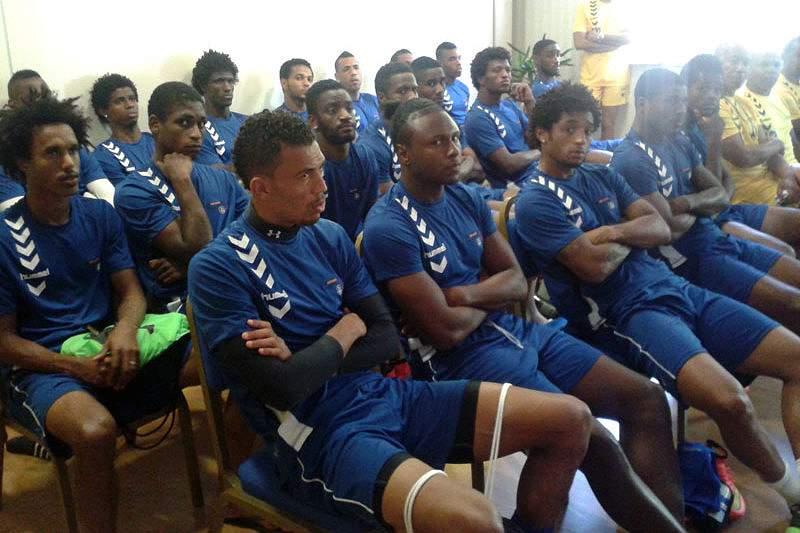 Concentração da Seleção de Cabo Verde