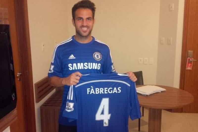 Fàbregas no Chelsea