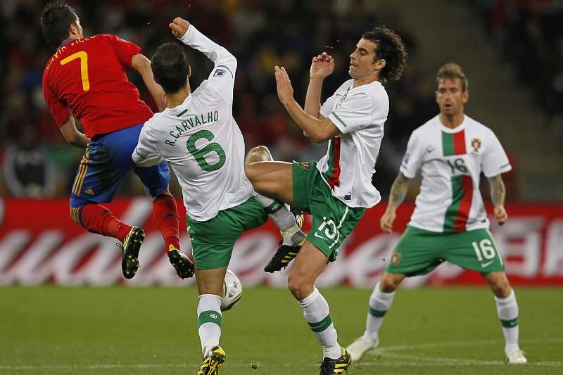 Ricardo Carvalho e Tiago