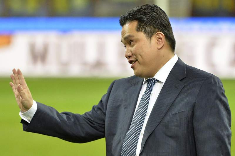 Erick Thohir, presidente do Inter de Milão
