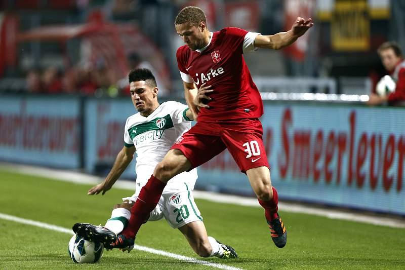 Luc Castaignos ao serviço do Twente