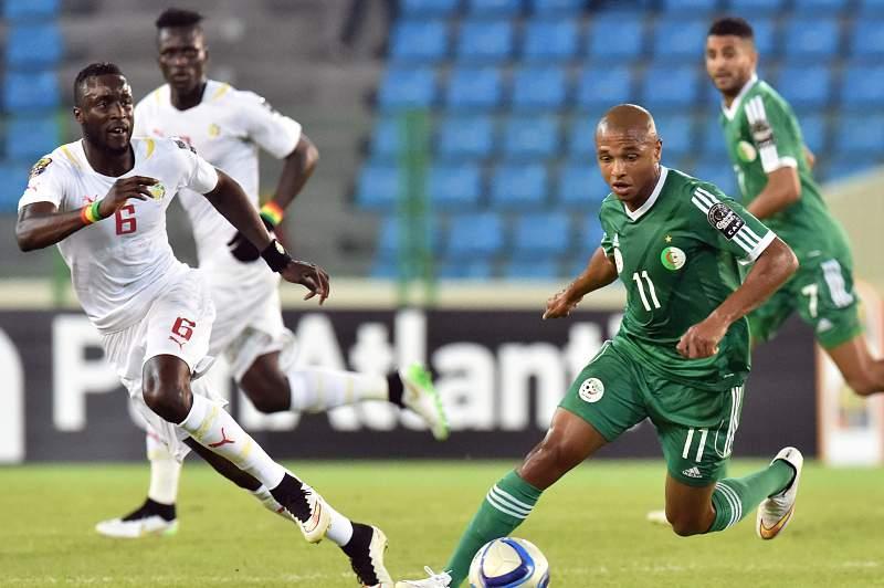 Argélia de Brahimi e Gana de Gyan estão apurados