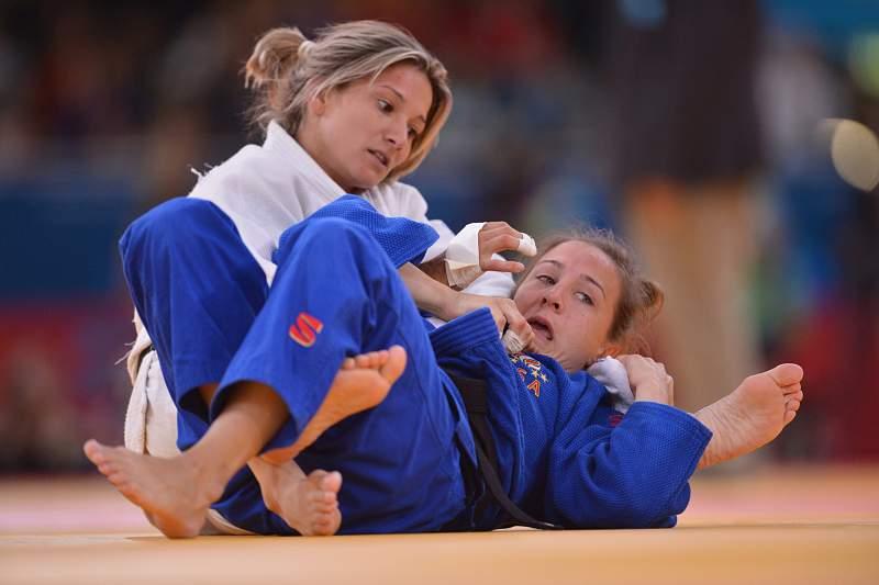 Telma Monteiro é uma das judocas portuguesas de maior prestígio europeu