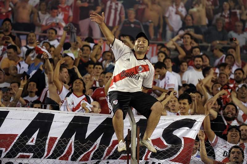 River Plate e Nacional de Medellin na final da Taça Sul-Americana de futebol