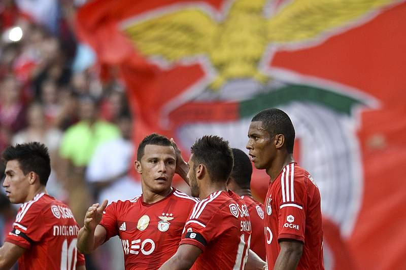 Lima celebra o regresso aos golos frente ao Moreirense