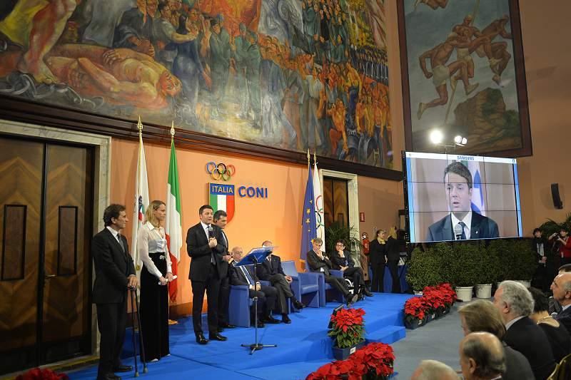 Primeiro ministro Matteo Renzi anuncia candidatura de Roma aos Jogos Olímpicos de 2024